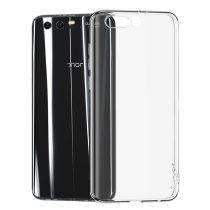 Huawei Honor 9 iPaky Premium TPU Szilikon Tok Áttetsző + Honor 9 Kijelzővédő Üveg Tempered Glass