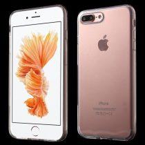 iPhone 8 Plus iPhone 7 Plus Tok Szilikon TPU Fényes - Glossy Series Áttetsző