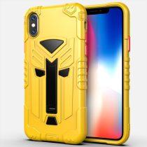 RMPACK iPhone X XS 5.8 Ütésálló Tok KingKong Edition Hybrid Sárga