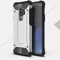 RMPACK Samsung Galaxy S9+ Ütésálló Armor Tok Guard Series 2in1 Ezüst
