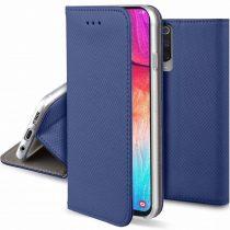 Huawei P Smart PRO 2019 Notesz Tok Flip Magnet Kártyatartóval Kék